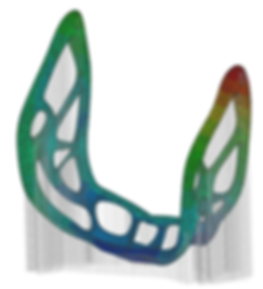 Additive Lab. 3D printing Mechanical Simulation. AM Simulation. Selective Laser melting simulation
