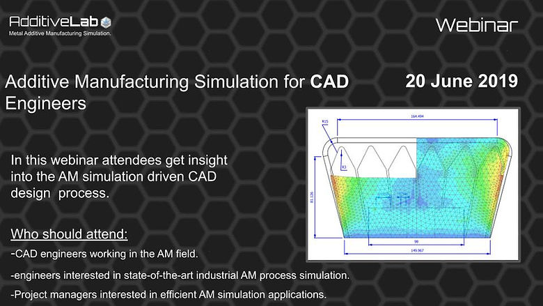 Additive Manufacturing Simulation for CA