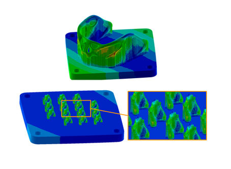 Additive Manufacturing Simulation - To Baseplate or Not To Baseplate.
