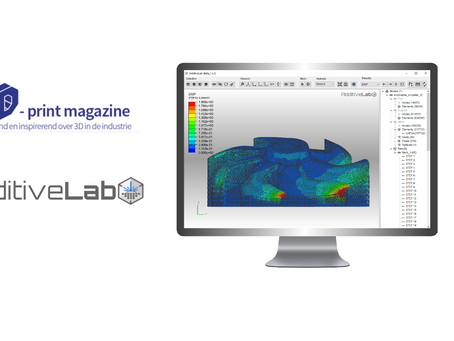 AdditiveLab featured on Belgian 3D Print Magazine