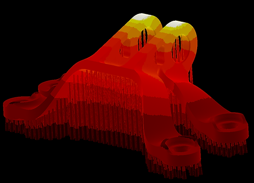 AdditiveLab. 3D printing Thermal Simulation. AM Simulation. Thermal Analysis.