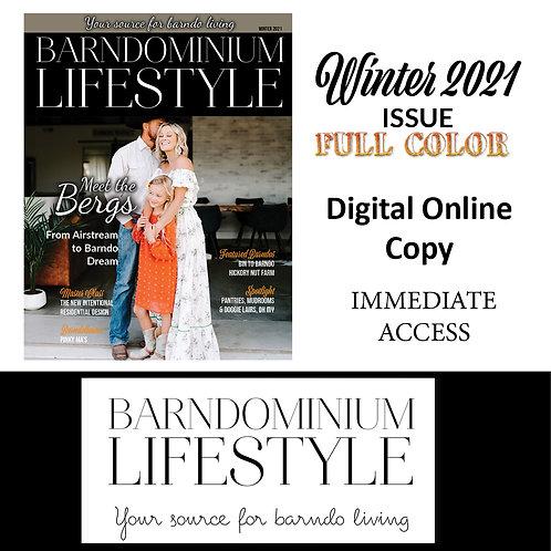 Winter Digital Edition - Single Issue