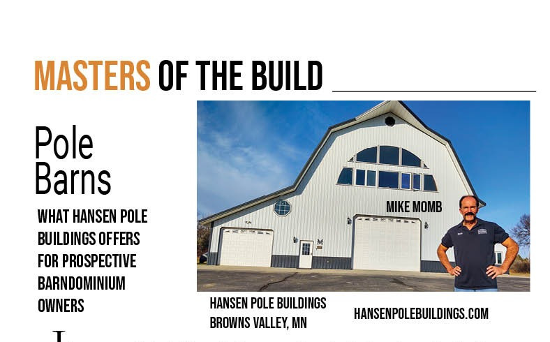 Masters of the Build Hansen Pole Barns