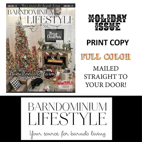 Print - Single Copy Holiday Issue