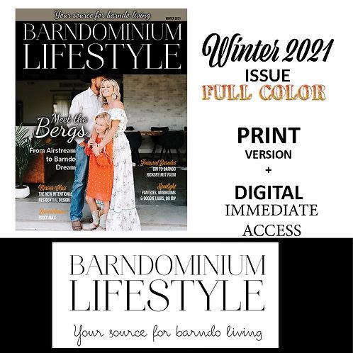 Winter 2021 -Print Single Issue