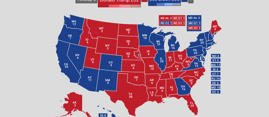 2020 Presidential Election: Live Map!