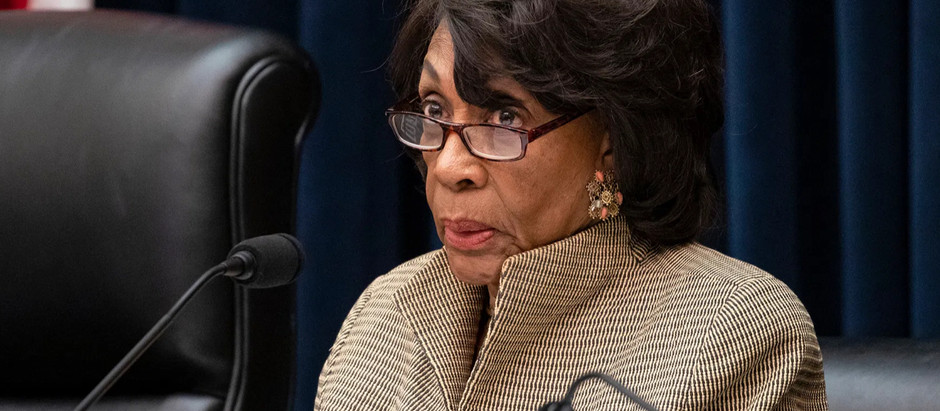 Maxine Waters In *Hot* Water