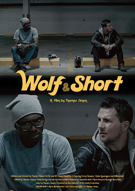 Wolf and Short Poster Vertical No Laurel