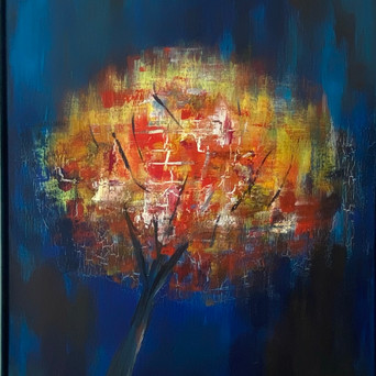 Tree | Acryl auf Leinwand