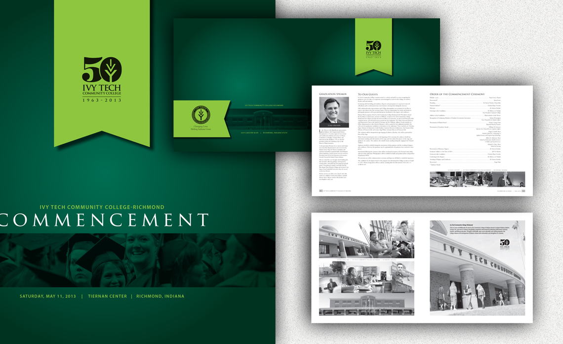 brochure ivy tech commencement