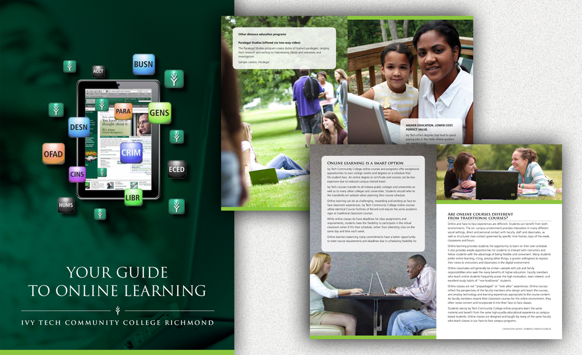 brochure ivy tech online