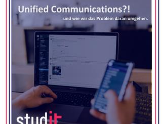 Unified Communications (UC)- Vorteile und wie wir Nachteile eliminieren.