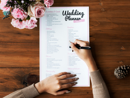 The Ultimate Planner For Your Last-Minute Wedding Preparations