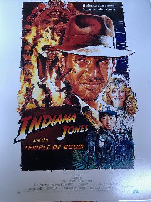 Indiana Jones autograph