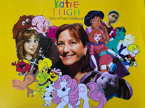 Katie Leigh autograph
