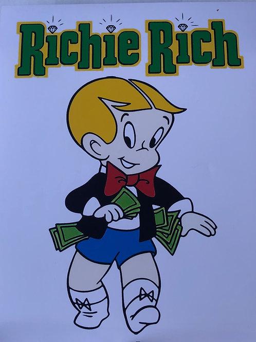 Richie Rich autograph