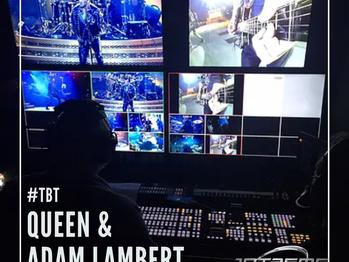 #tbt Queen + Adam Lambert