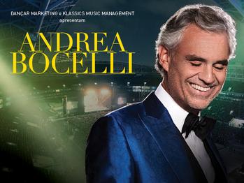 Com Romanza, Andrea Bocelli passa por três cidades brasileiras em 2018