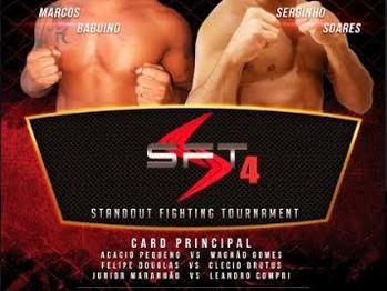 4ª EDIÇÃO DO STANDOUT FIGHTING TOURNAMENT (SFT)