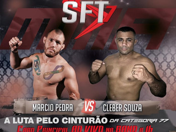 7ª edição do SFT tem disputa de cinturão