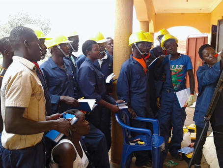 How solar technical trainings are up scaling the unemployed youth