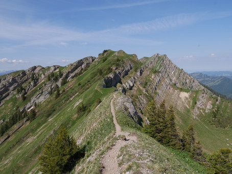 Gratwanderung: Zweifel, Verantwortung, Masken. Walking on the edge: doubts, responsibility, masks.