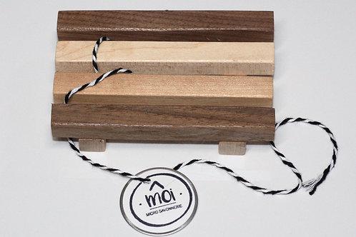 Savonnier égouttoir en bois