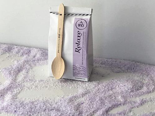 Relaxe -sels de bain moussant lavande et orange douce