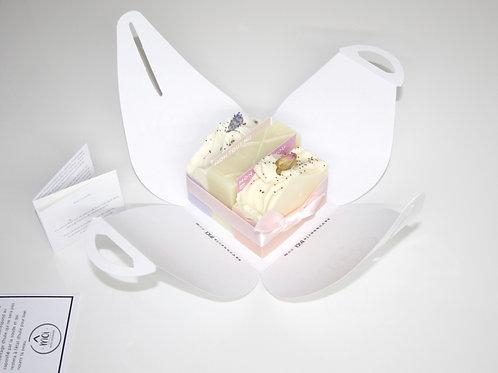 savon 100% naturel lait muguet lavande rose violet ivoire fait main quebec