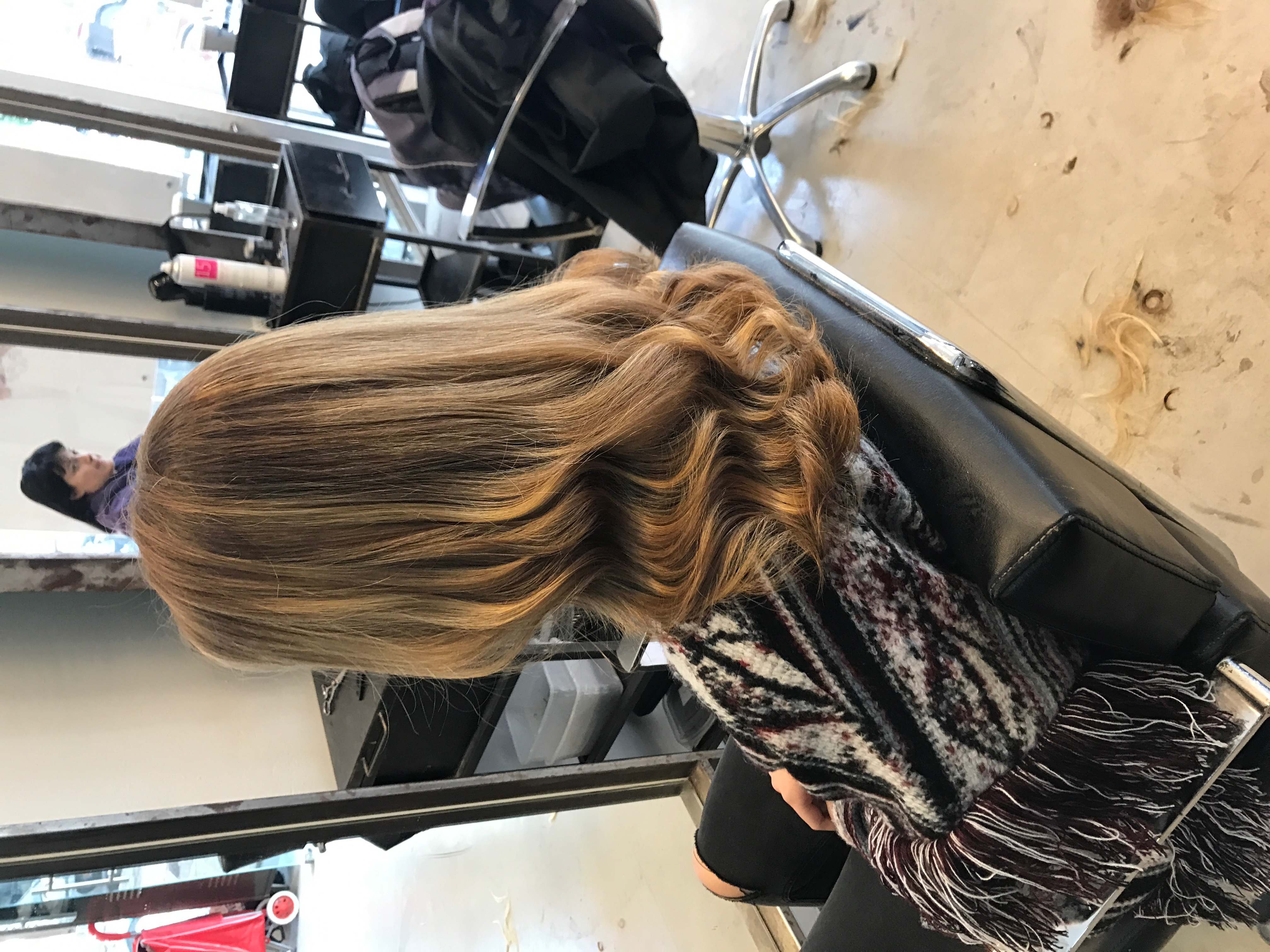 גוונים בשיער אומברה