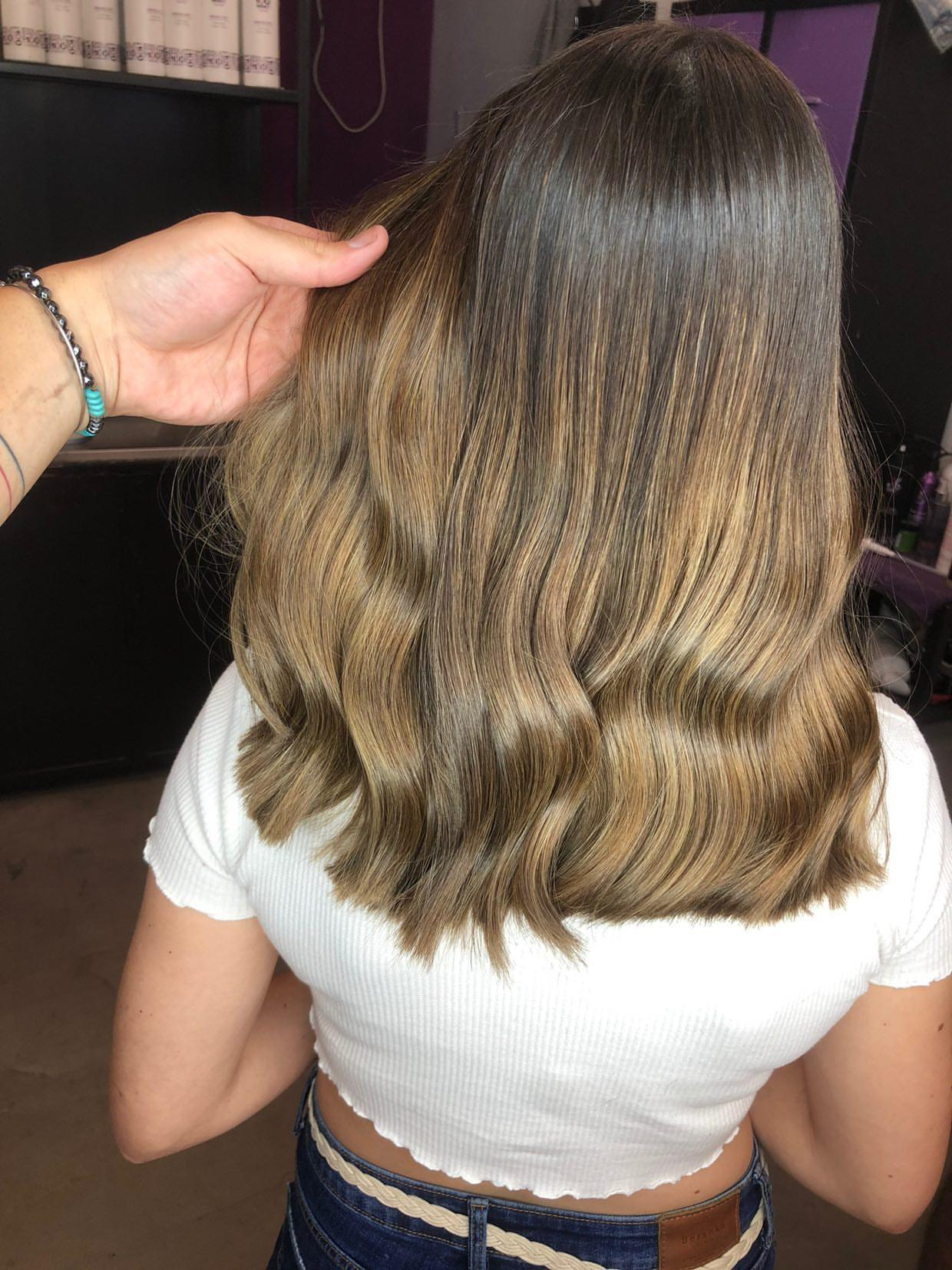 גוונים חומים בשיער