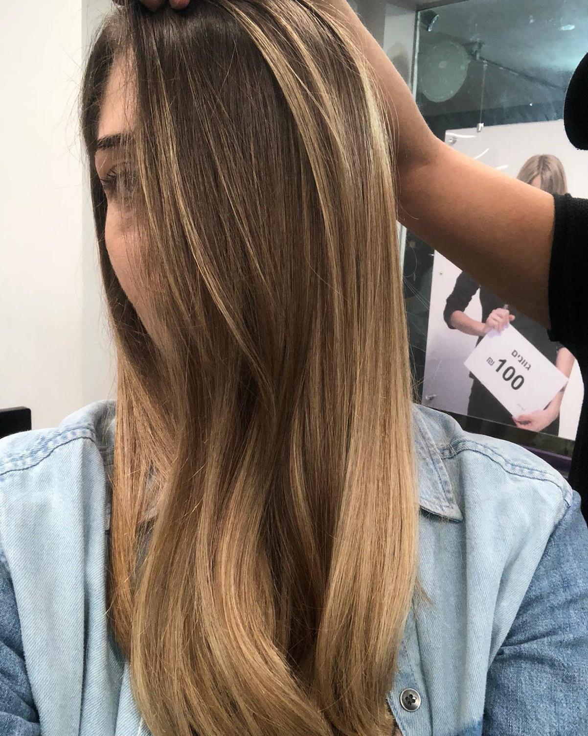 גוונים חומים בשיער בליאז