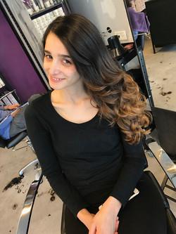 אומברה טבעי בשיער