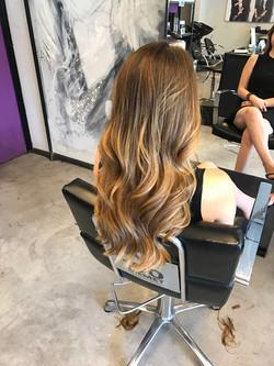 בליאז טבעי בשיער