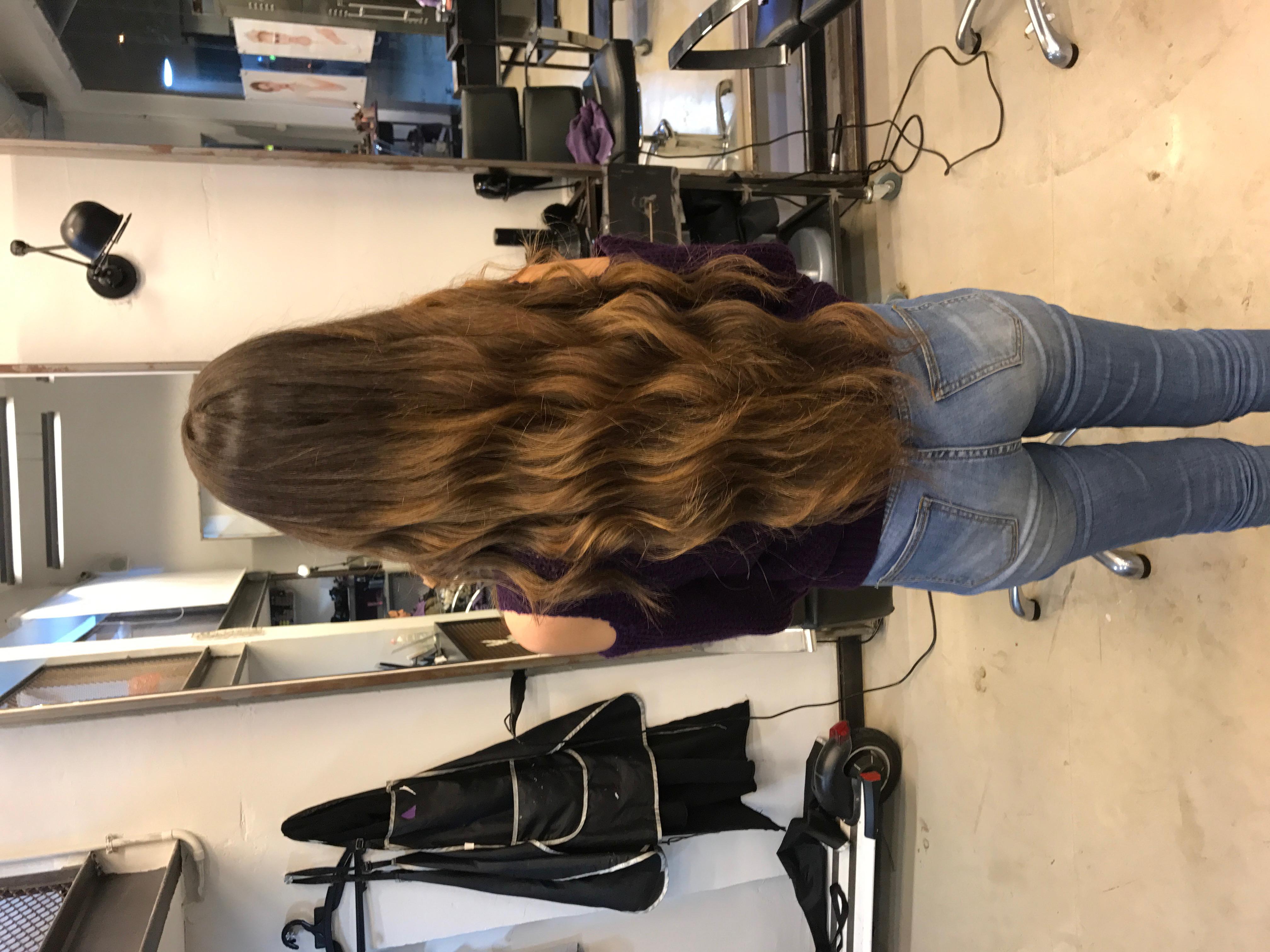 גוונים חומים טבעיים בשיער