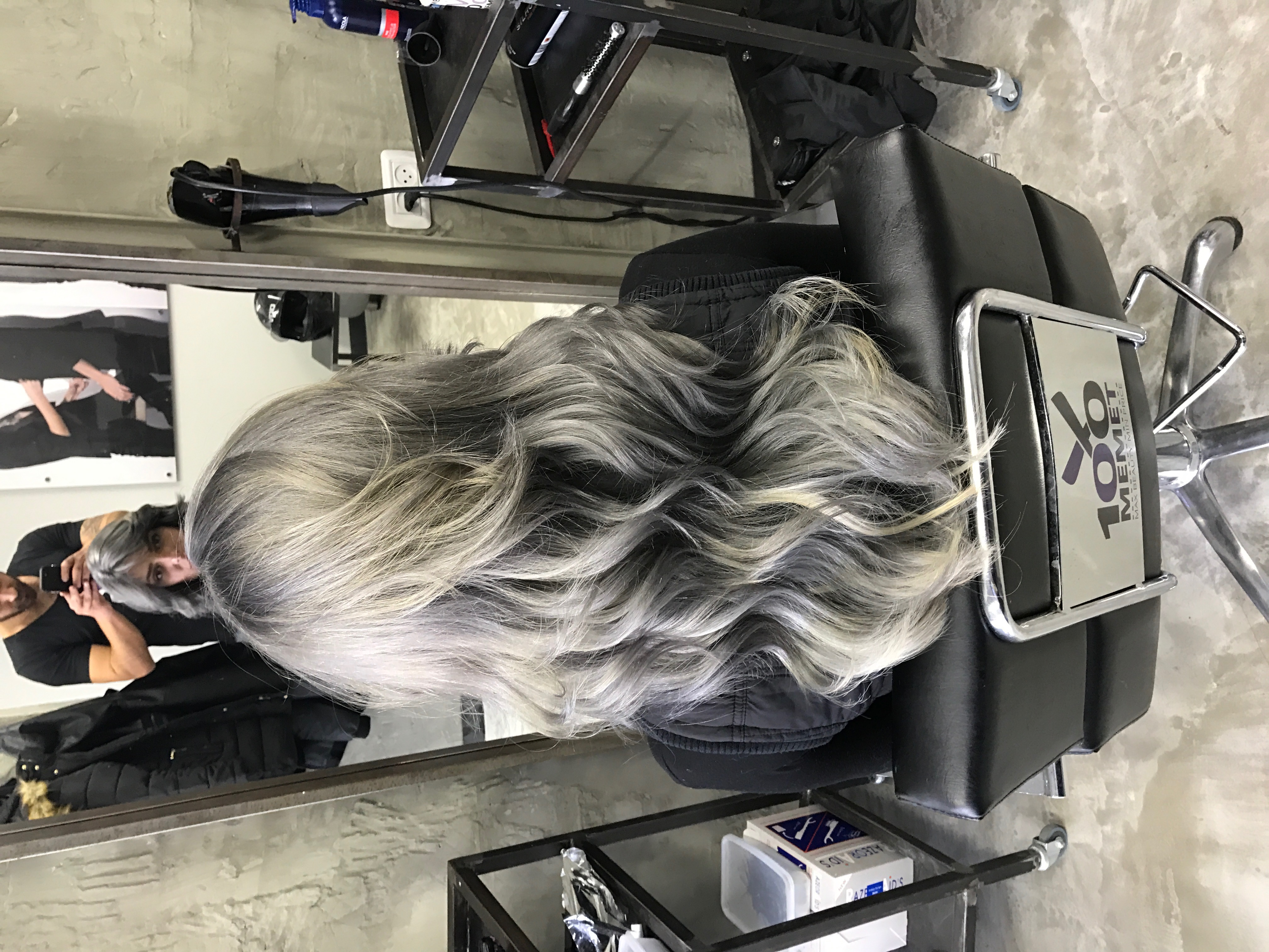 שיער אפור שיער סילבר