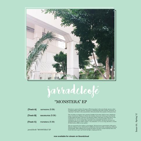 Premiere: jarradcleofé - Monstera EP
