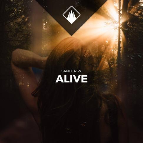 Premiere: Sander W. - Alive (ft. Alexandra)