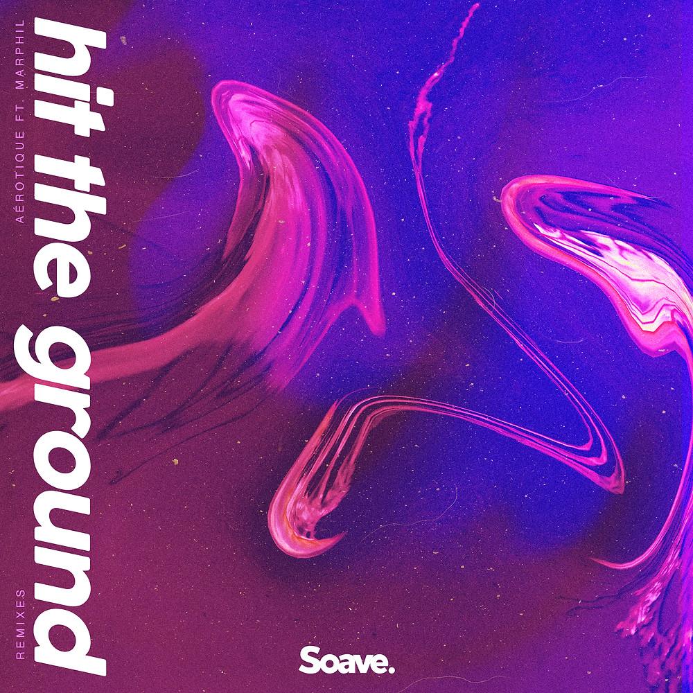 hit the ground remixes artwork