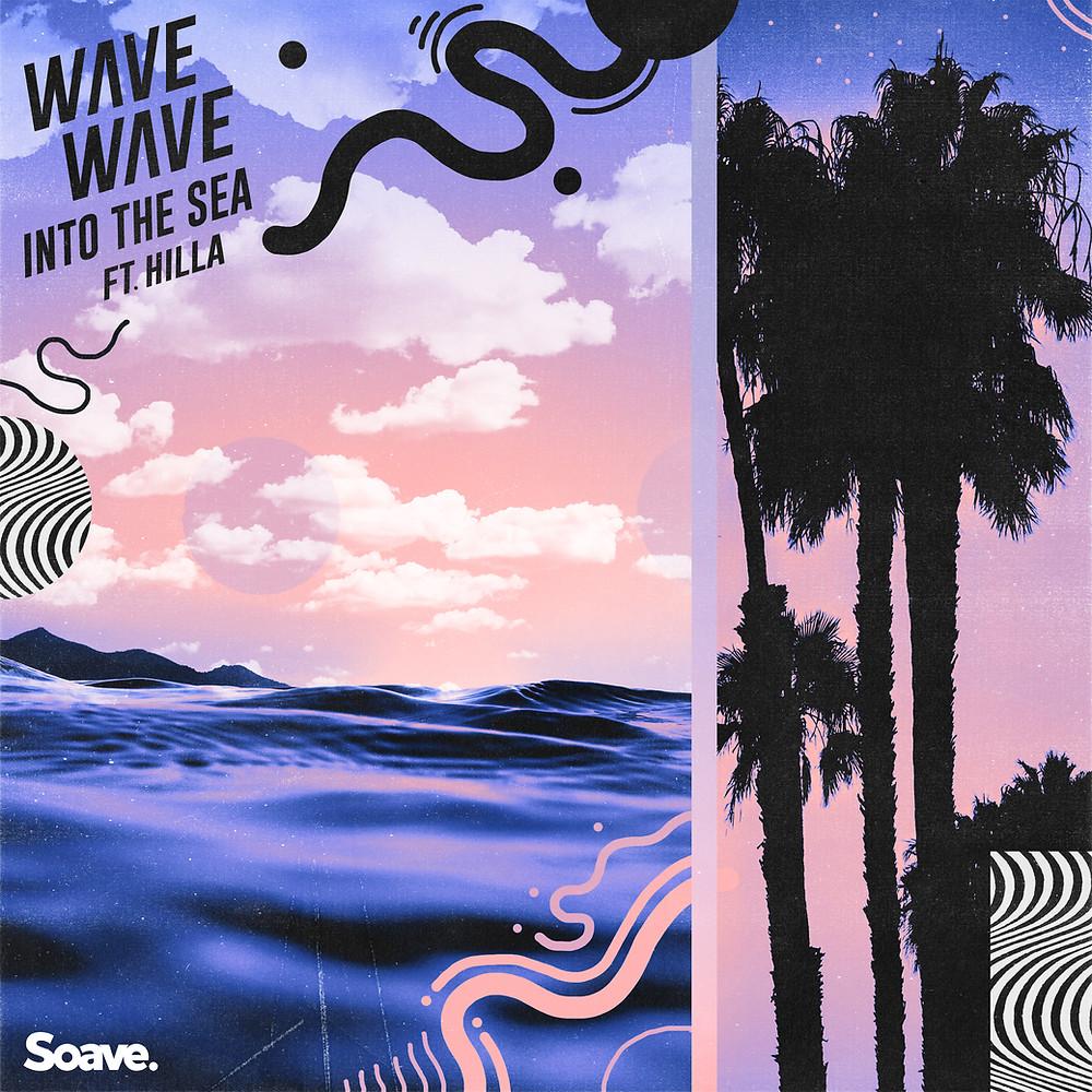 wave wave into the sea artwork