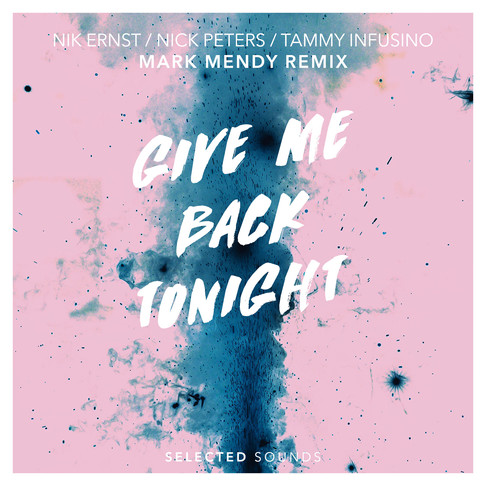 Premiere: Give Me Back Tonight (Mark Mendy Remix)