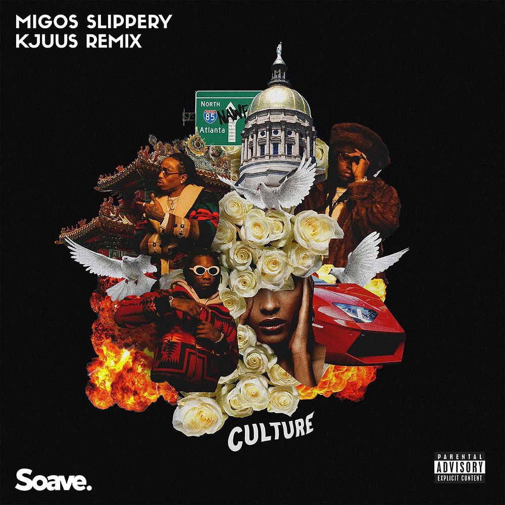 migos slippery kjuus remix artwork