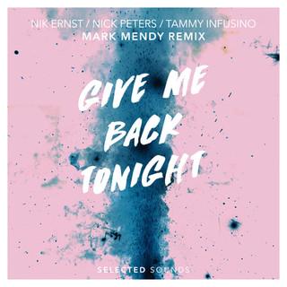 Give Me Back Tonight (Mark Mendy Remix)