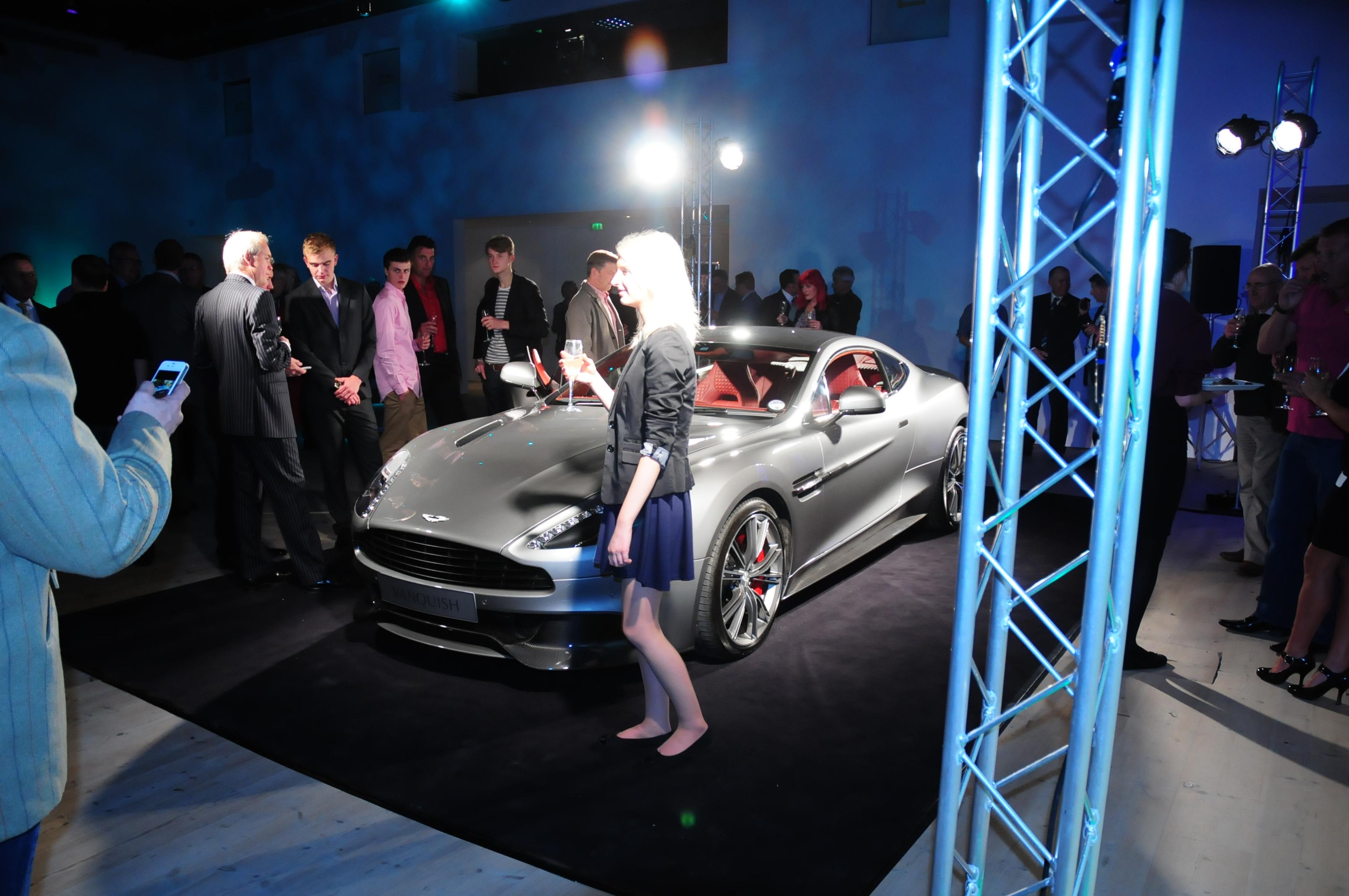 New Aston Martin anyone ?