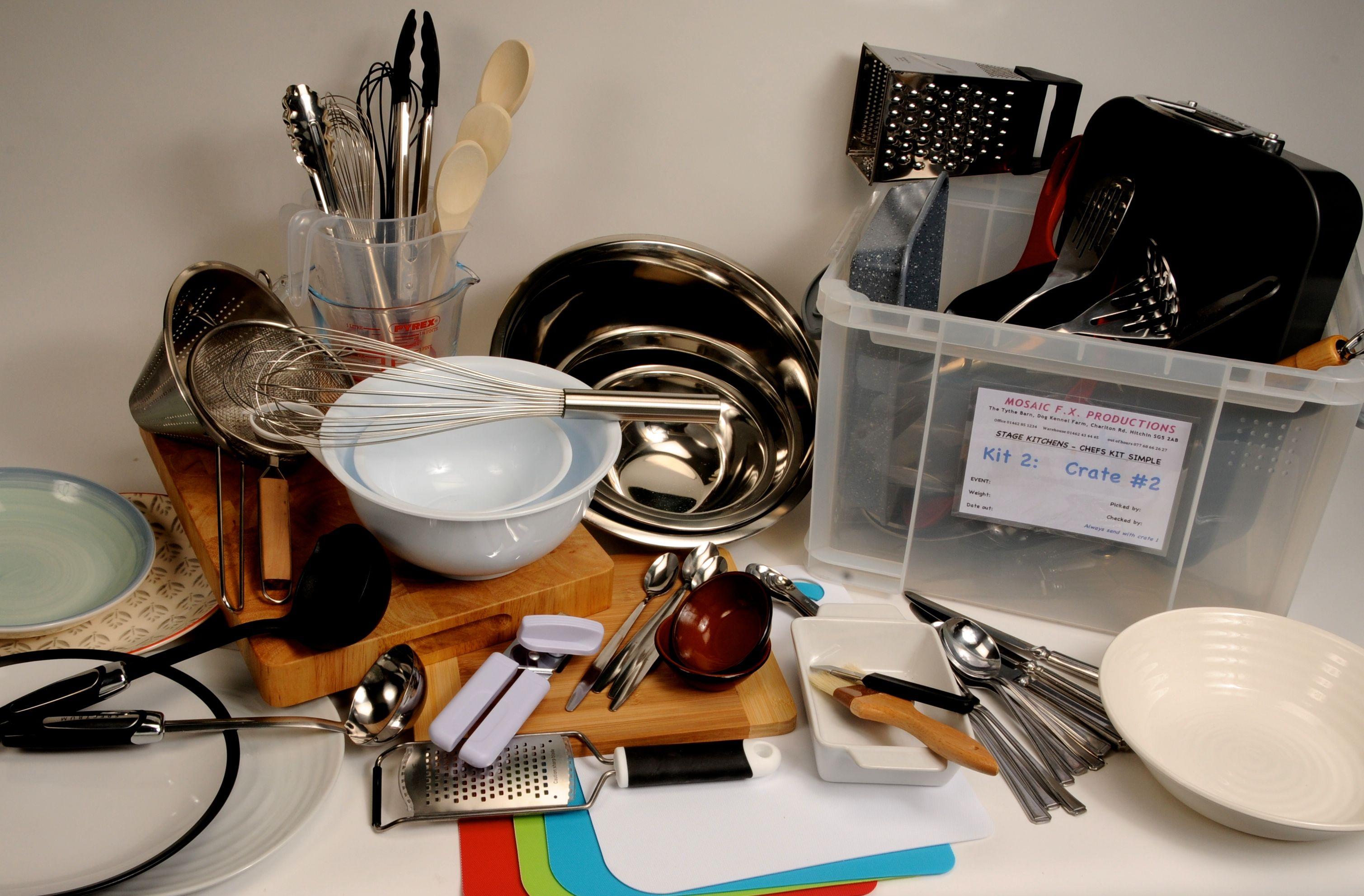 On Stage Chefs basic kit