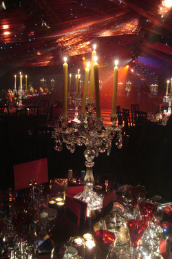 A lush look in a Kentish marquee