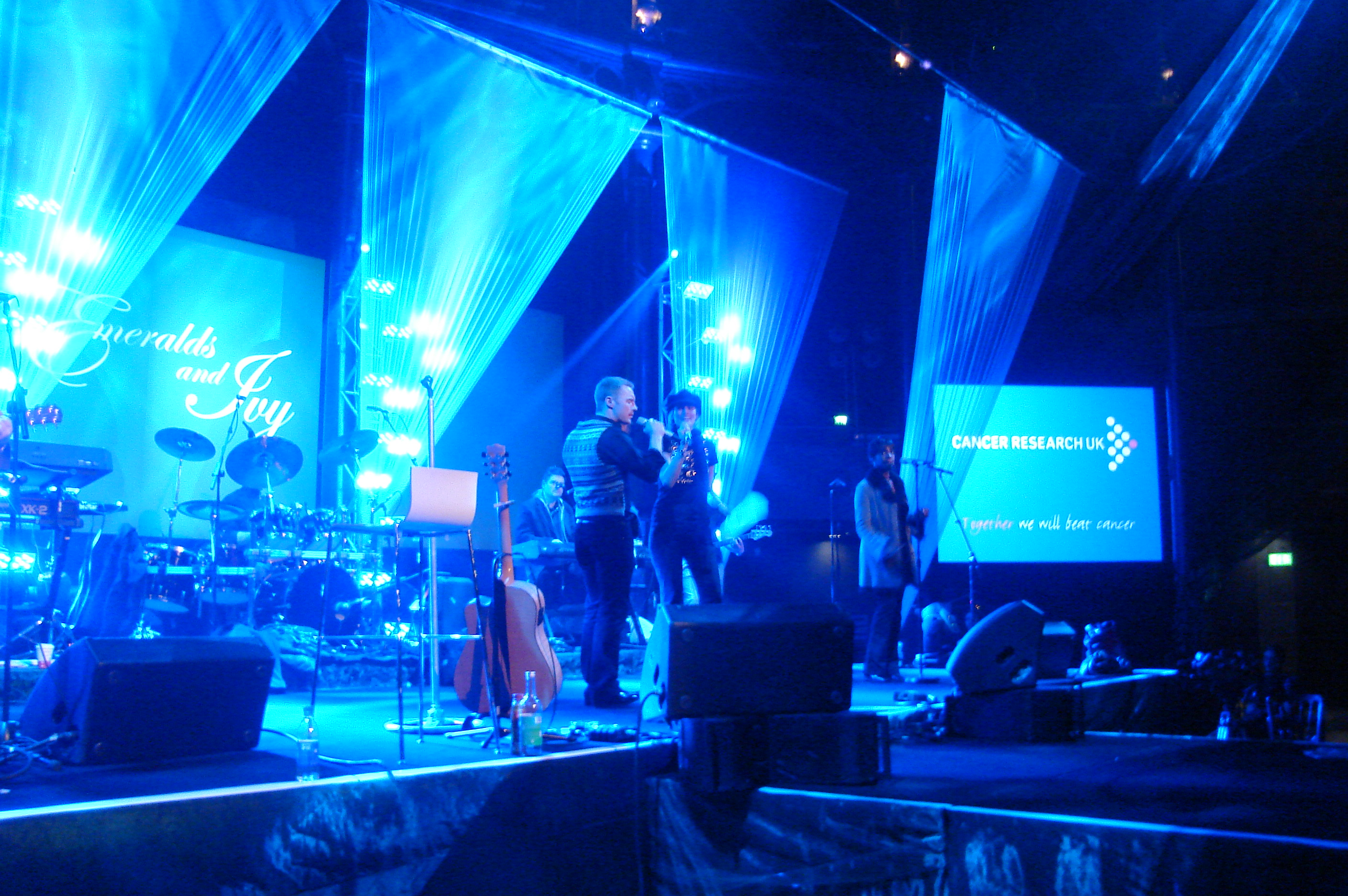 Ronan Keating's Emerald & Ivy Ball