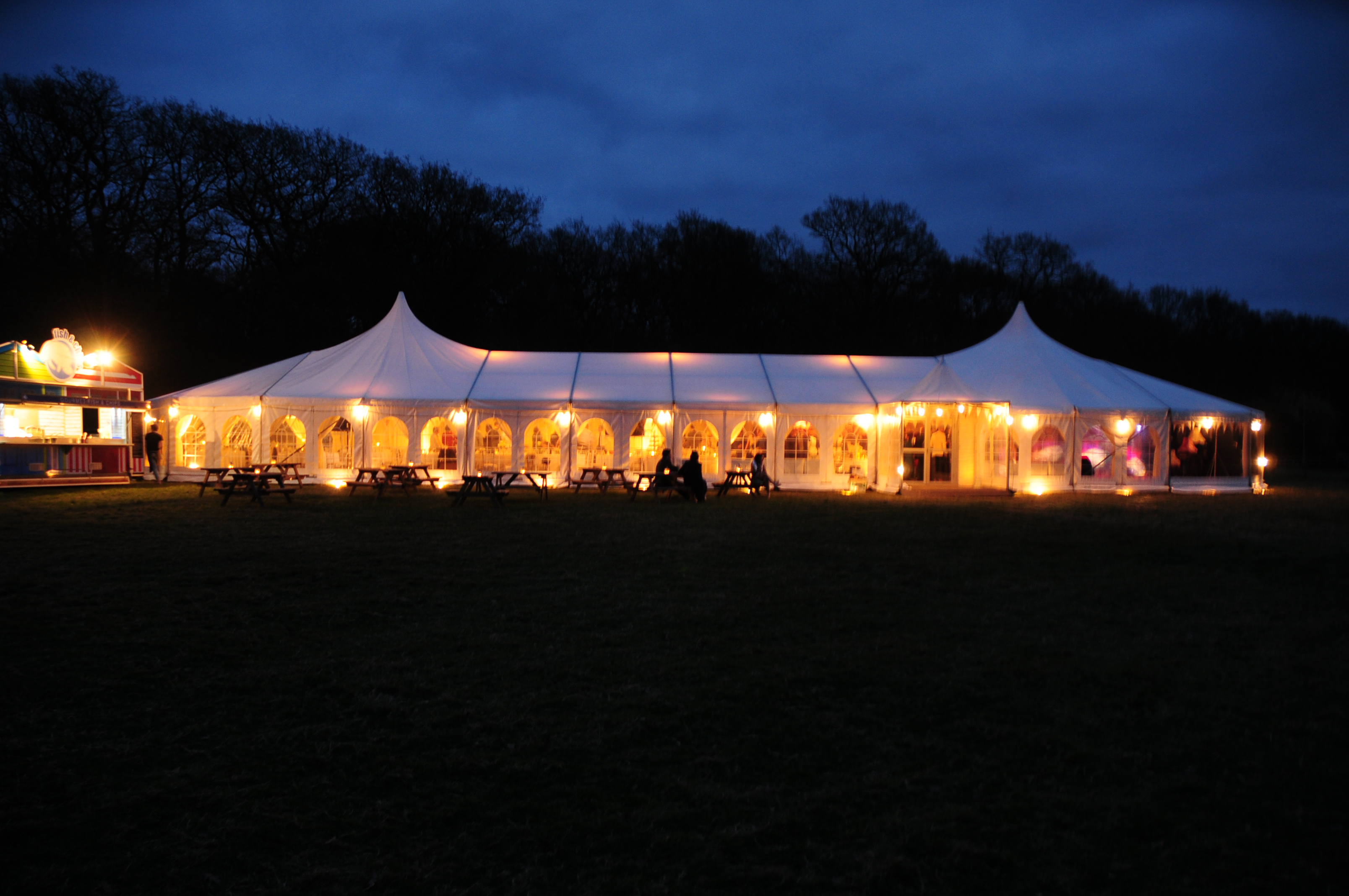 What a stunning Wedding marquee