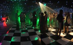 A wedding dance floor