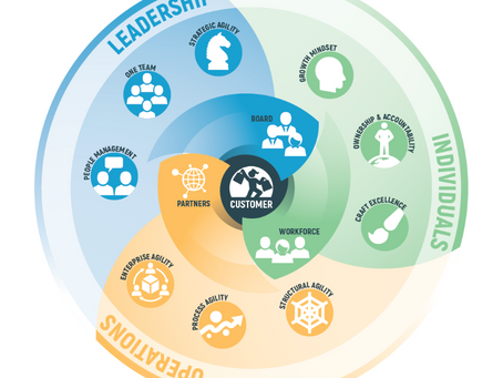 Business agility – growing and developing